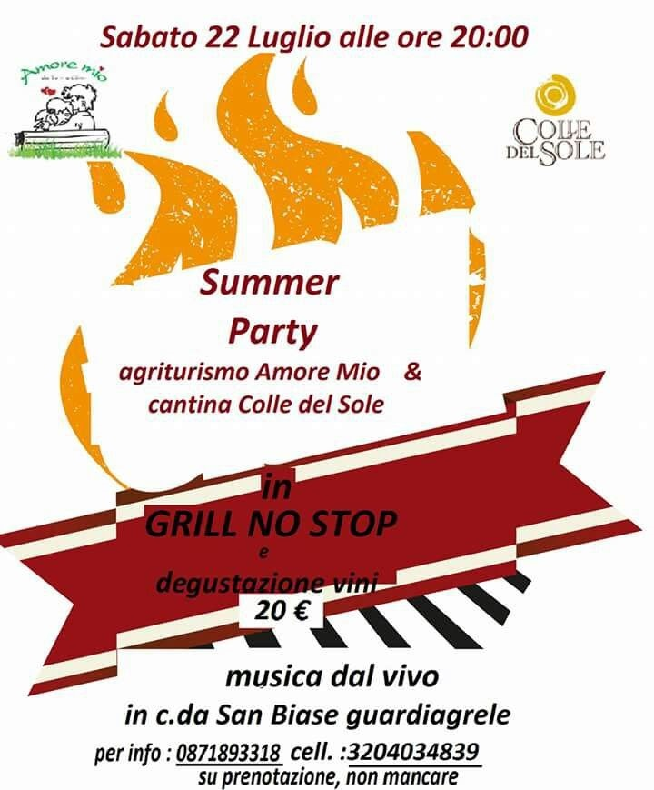 summer party colle del sole