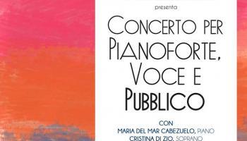 Concerto per Pianoforte Voce e Pubblico
